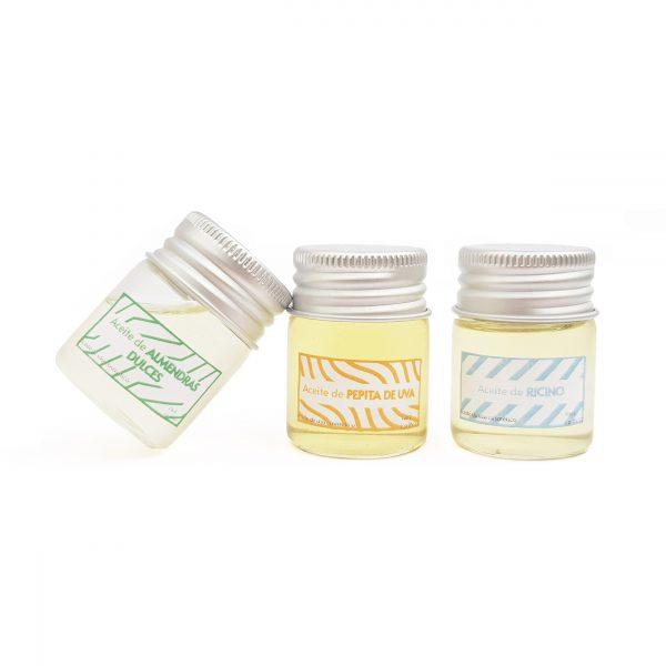 aceite vegetal ecológico de uso facial